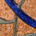From Here to Infinity, Copper and Blue (detail)