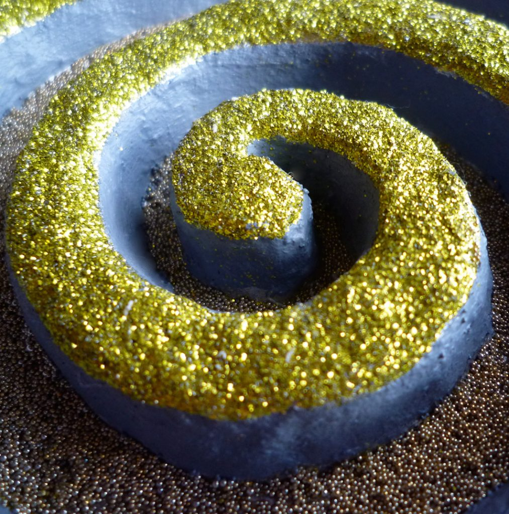 Snakelike, Chartreuse (detail)