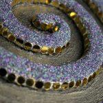 Snakelike, Violet (detail)